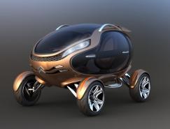 雪鐵龍EGGO概念電動車
