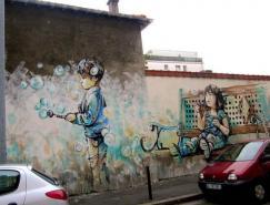 AlicePasquini街头绘画艺术