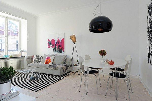 宁静温馨的北欧风情2居室公寓