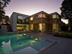 伦敦Millbrae现代别墅设计
