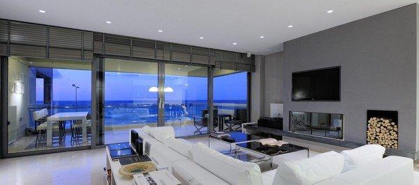 希腊精致的现代公寓设计