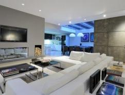 希臘精致的現代公寓設計