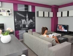 保加利亚简约的小公寓设计