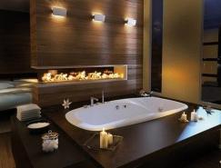 豪華的現代浴室設計欣賞