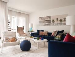色彩与图案交织的葡萄牙温馨公寓设计