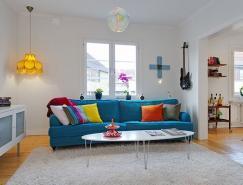 斯德哥尔摩清新风格的复式公寓设计