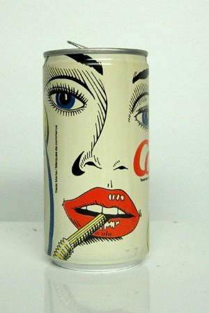 漂亮的罐装饮料包装设计