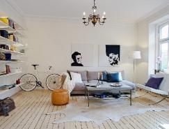瑞典哥德堡87平米簡約風公寓設計