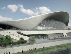 zahahadid作品:伦敦奥运会水上运动中心