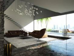 国外现代客厅设计欣赏(2)
