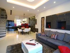 匈牙利一套130平米现代时尚风格公寓设计