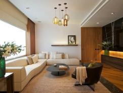 新德里现代风格的公寓室内设计