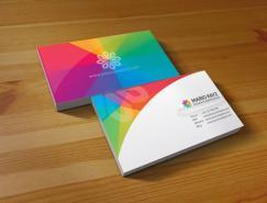 40款缤纷色彩的创意名片设计
