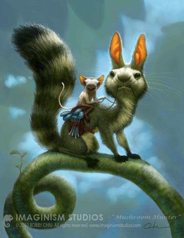 imaginism可爱的动物插画(4)