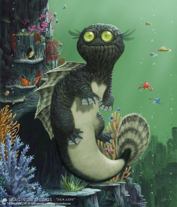 imaginism可爱的动物插画(5)
