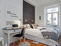 小戶型大客廳:58平米北歐公寓設計