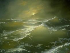 GeorgeDmitriev海景绘画作品