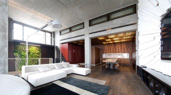乌克兰顶楼Loft公寓设计