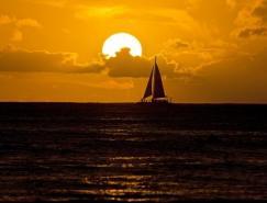 最美丽的日落摄影图片