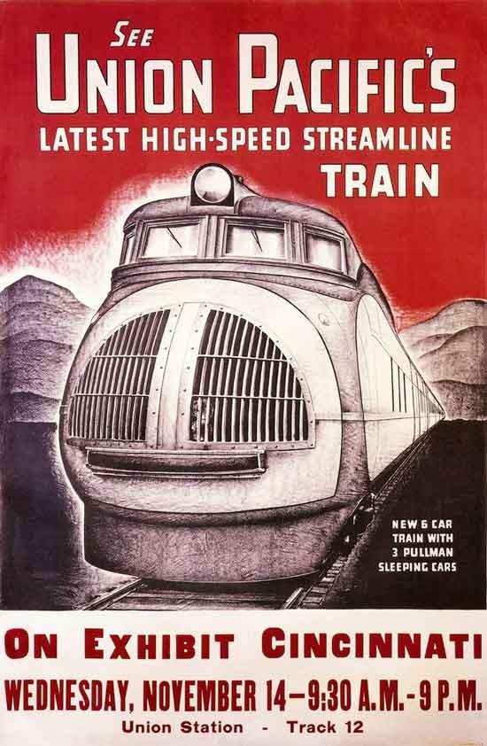 国外经典的铁路海报设计