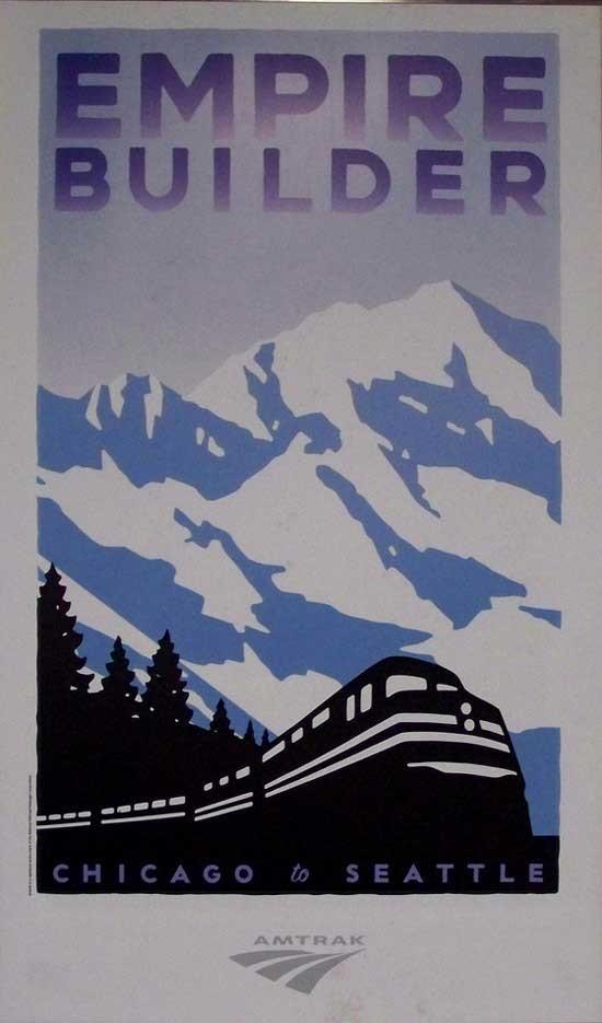 国外经典的铁路海报设计(3)
