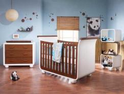 20个国外漂亮的婴儿房设计