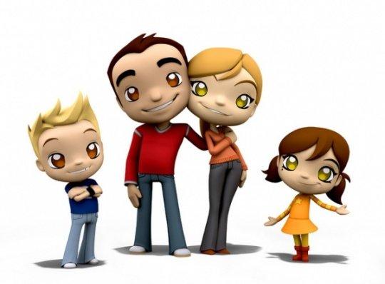 可爱的3d卡通角色设计(5)
