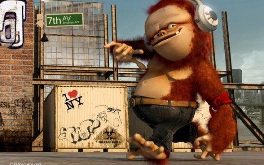 可爱的3d卡通角色设计(6)