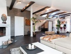 斯德哥尔摩创意阁楼室内设计