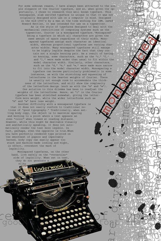 国外漂亮的字体海报设计欣赏(2)