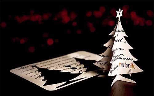 25个新年和圣诞贺卡设计欣赏