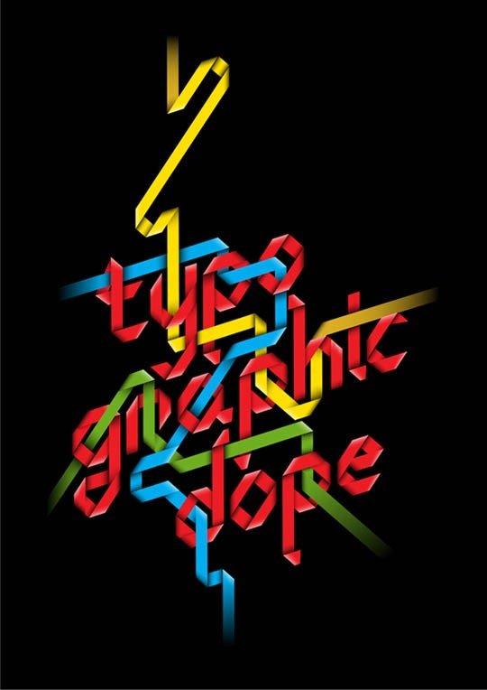文字 艺术 海报设计/海报设计中优美的文字排版艺术