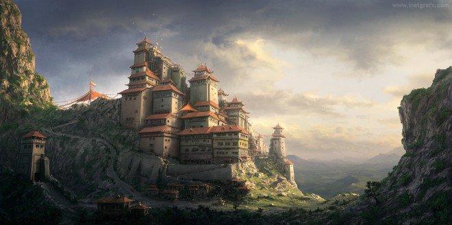 20个城堡CG概念艺术作品