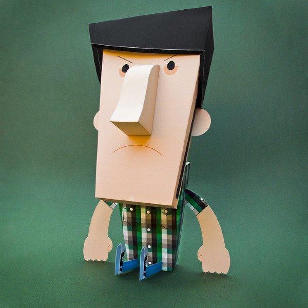 NachoRojo令人惊叹的纸艺术