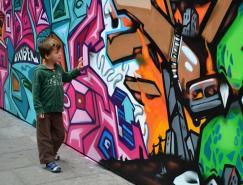 41个创意街头涂鸦艺术欣赏