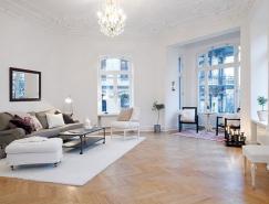 147平米瑞典白色公寓设�L计