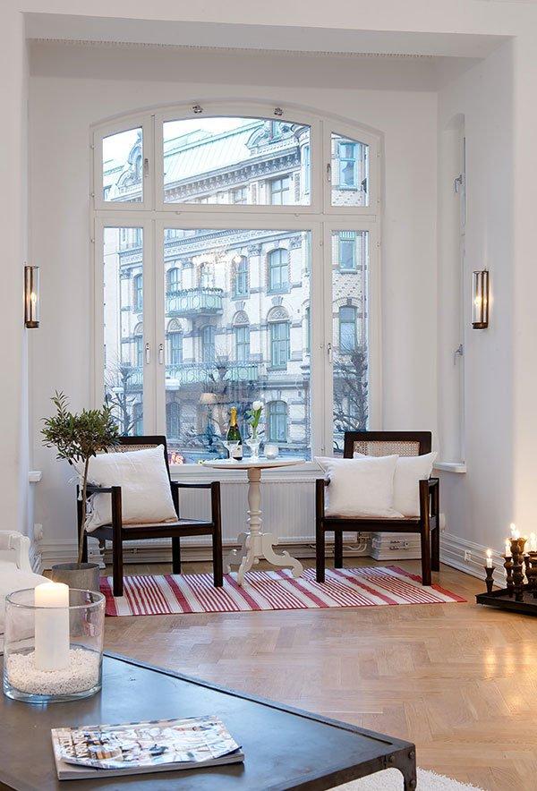 147平米瑞典白色公寓设计