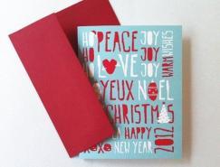 10款創意圣誕賀卡設計