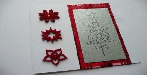 10款创意圣诞贺卡设计