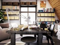 创意家庭工作区设计