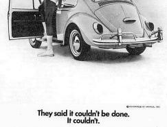 1960年代大众甲壳虫广告欣赏