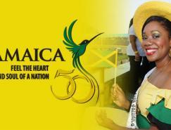 牙买加庆祝独立50周年Logo