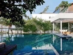 新加坡升涛湾玻璃墙豪宅设计