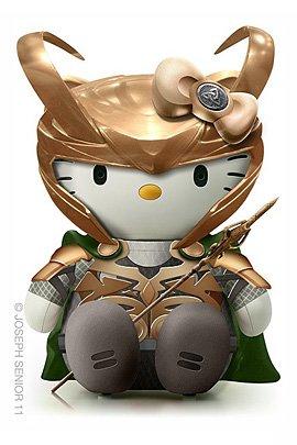 JosephSenior的超酷HelloKitty玩偶
