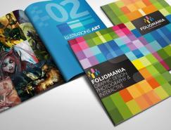 Foliomania:充满活力色彩的设计