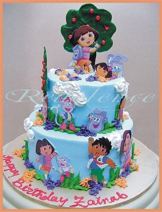 66款创意儿童生日蛋糕(2) - 设计之家