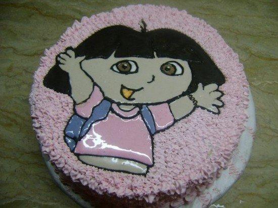 66款创意儿童生日蛋糕(4) - 设计之家