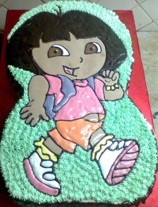 66款创意儿童生日蛋糕(6)