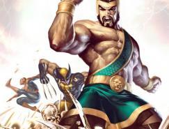 神话人物:大力士(Hercules)插画欣赏