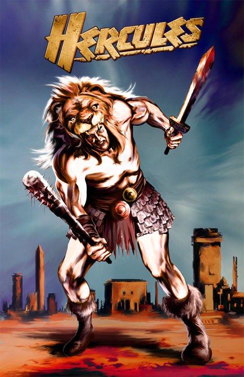 神话人物:大力士(Hercules)插画欣赏(3)